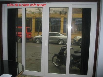 cửa đi 4 cánh mở trượt - Mateximwindow
